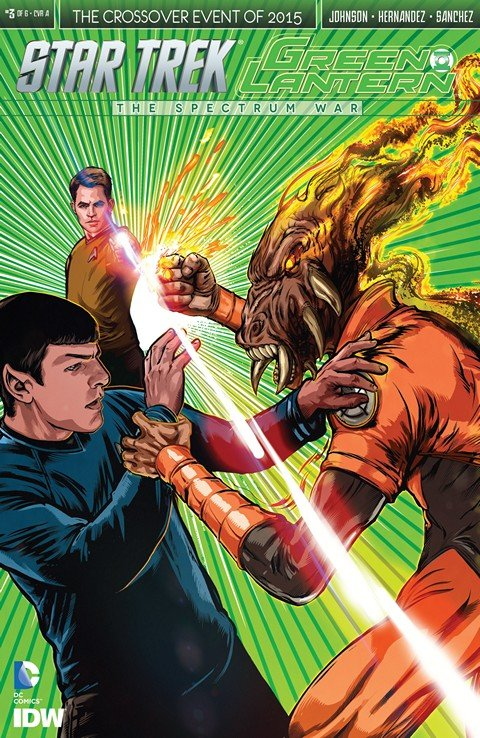 Star Trek / Green Lantern – The Spectrum Wars #1 – 3