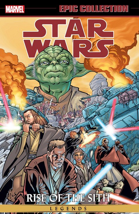 Star Wars Legends Epic Collection – Rise of the Sith Vol. 1