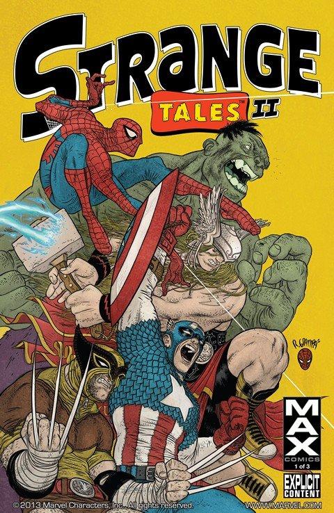 Strange Tales II Vol. 1 #1 – 3 (2010-2011)