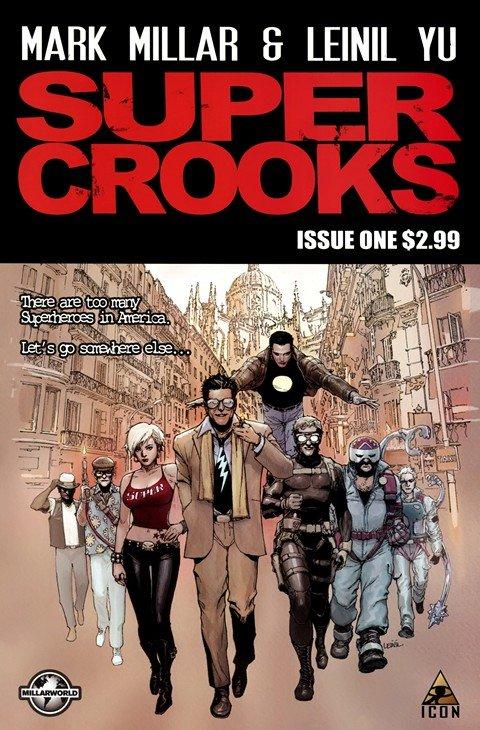 Supercrooks #1 – 4 (2012)