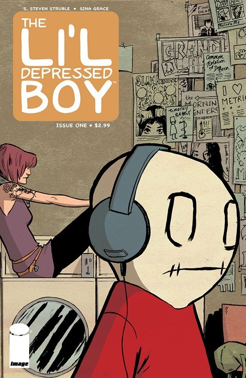 The Li'l Depressed Boy #1 – 16 + Vol. 0