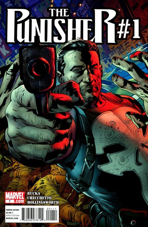 The Punisher Vol. 8 #1 – 16