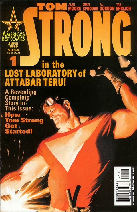 Tom Strong #1 – 36