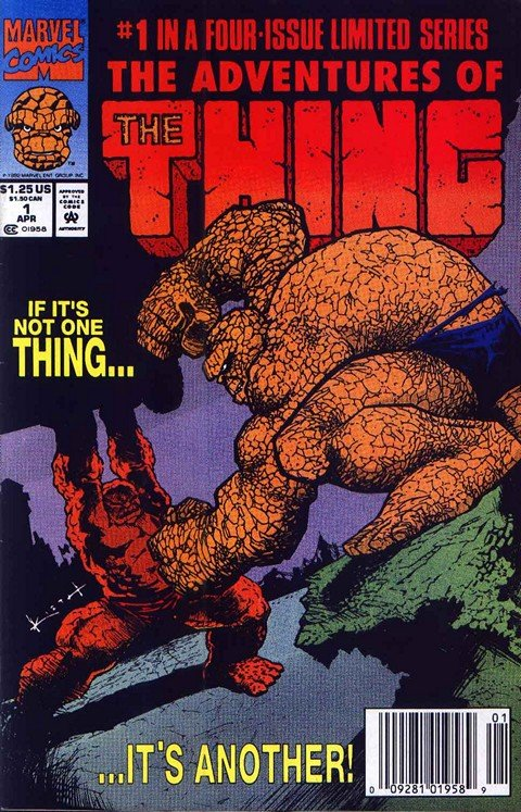 Adventures Of The Thing #1 – 4