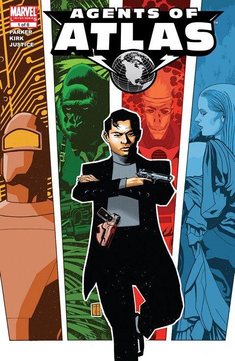 Agents of Atlas #1 – 6