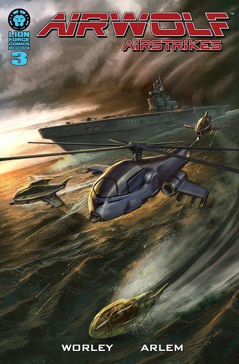 Airwolf Airstrikes – Airsharks #3
