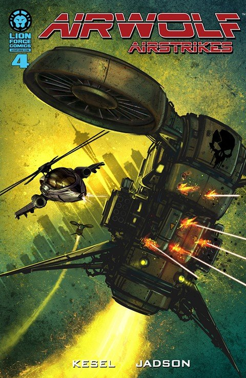 Airwolf Airstrikes – Fire Fight #4