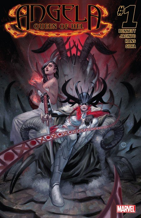 Angela – Queen of Hel #1