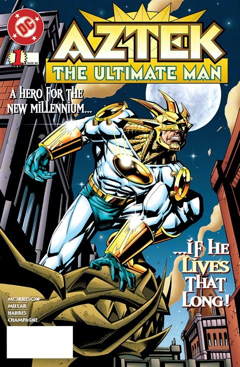 Aztek – The Ultimate Man #1 – 10