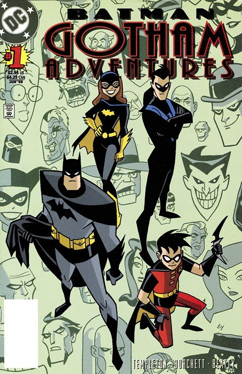 Batman Gotham Adventures #1 – 60