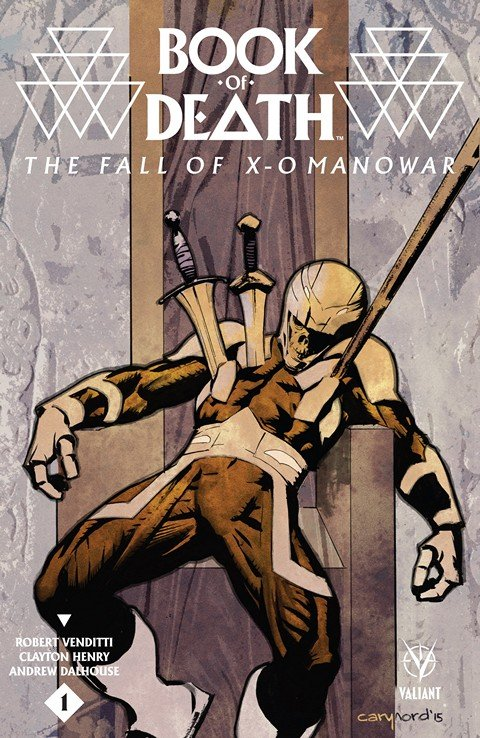 Book Of Death – Fall Of X-O Manowar #1