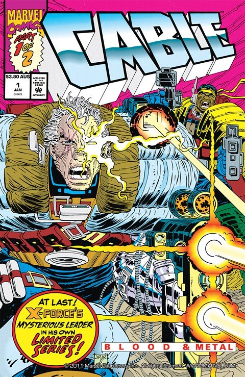 Cable – Blood and Metal #1 – 2 (1992)