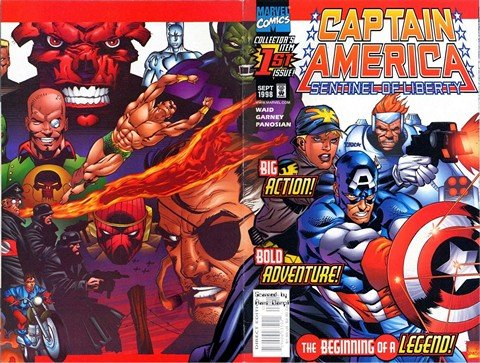 Captain America – Sentinel Of Liberty #1 – 12 + Extras