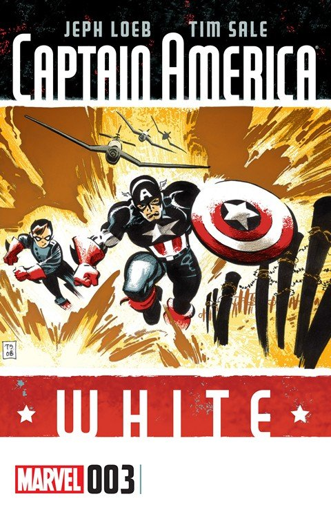 Captain America – White #3