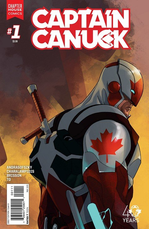 Captain Canuck #1 – 4 + FCBD