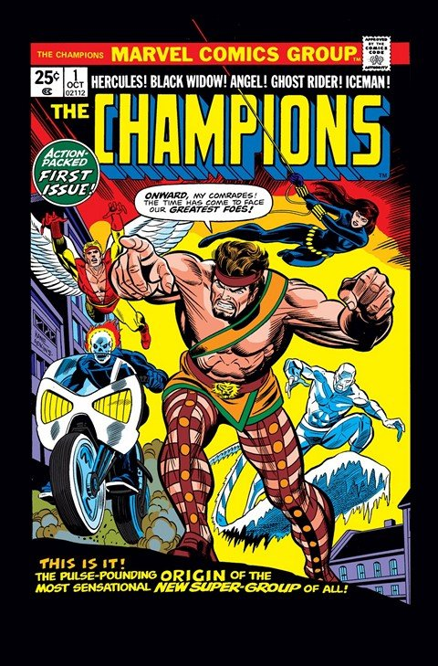 Champions Vol. 1 #1 – 17
