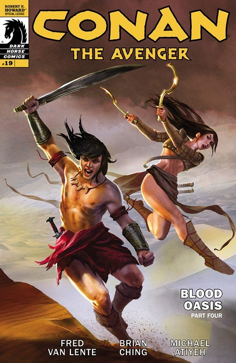 Conan the Avenger #19