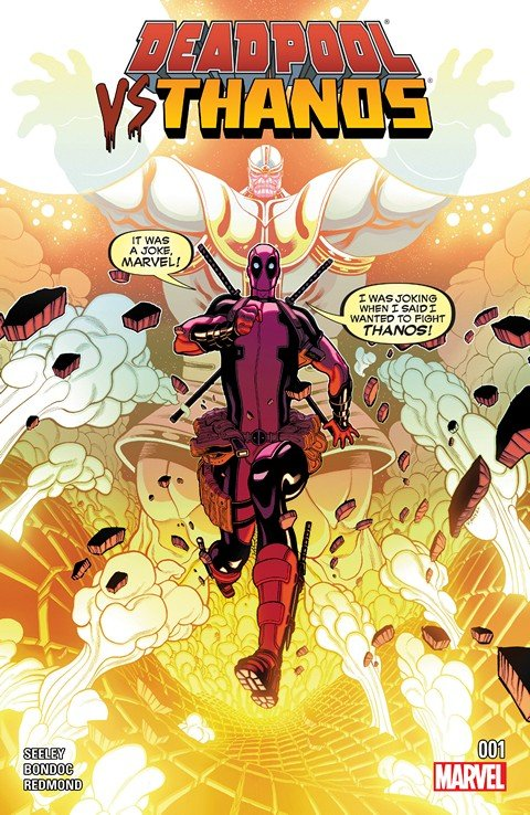 Deadpool vs. Thanos #1 – 4