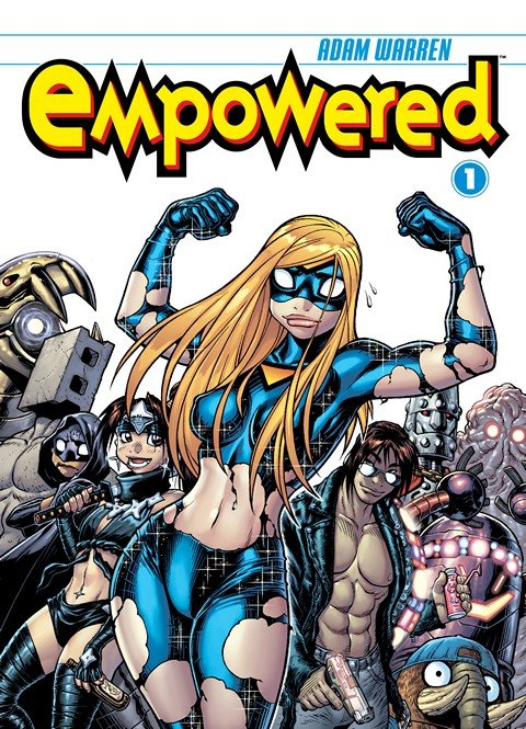 Empowered Vol. 1 – 10 + Unchained Vol. 1 (2007-2017)