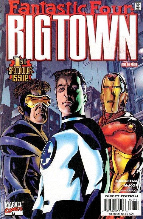 Fantastic Four – Big Town #1 – 4