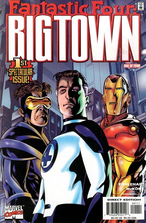 Fantastic Four – Big Town #1 – 4