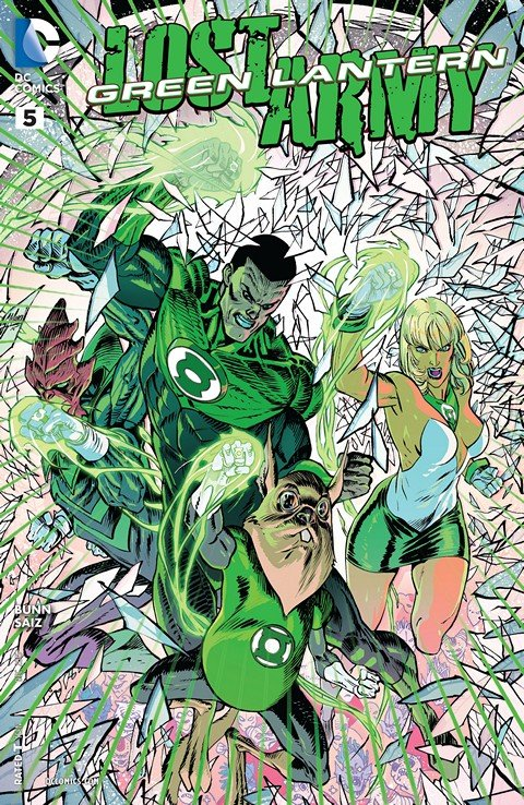 Green Lantern – The Lost Army #5