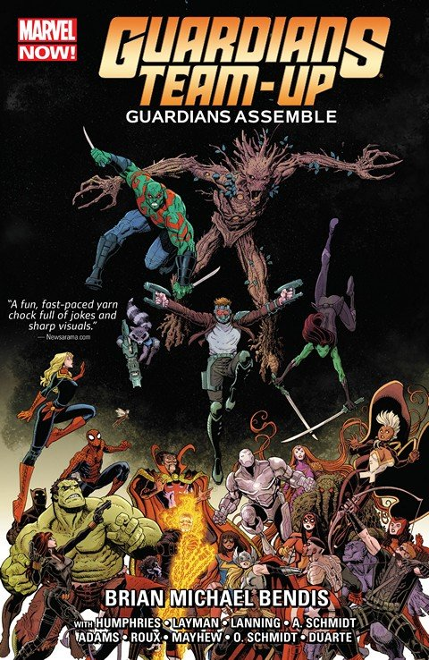 Guardians Team-Up Vol. 1 – Guardians Assemble