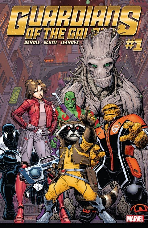 Guardians of the Galaxy Vol. 4 #1 – 19 + Annual (2015-2017)