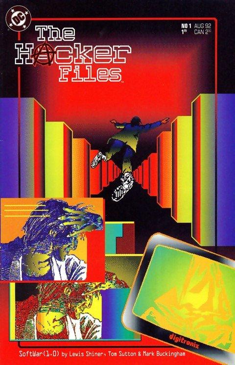 Hacker Files #1 – 12 (1992-1993)