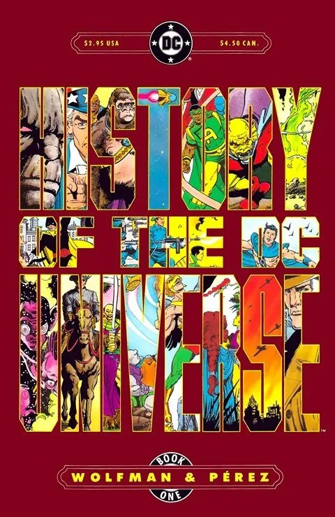 History of the DC Universe #1 – 2