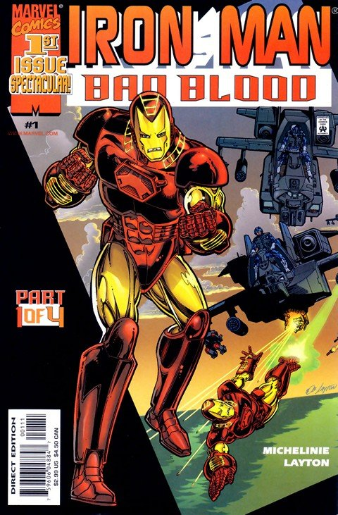Iron Man Bad Blood #1 – 4