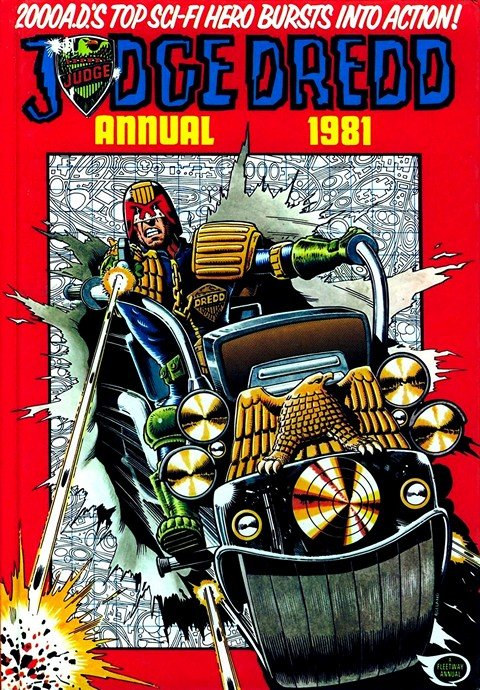 Judge Dredd – 2000AD #1 – 1826 + Annuals + Specials