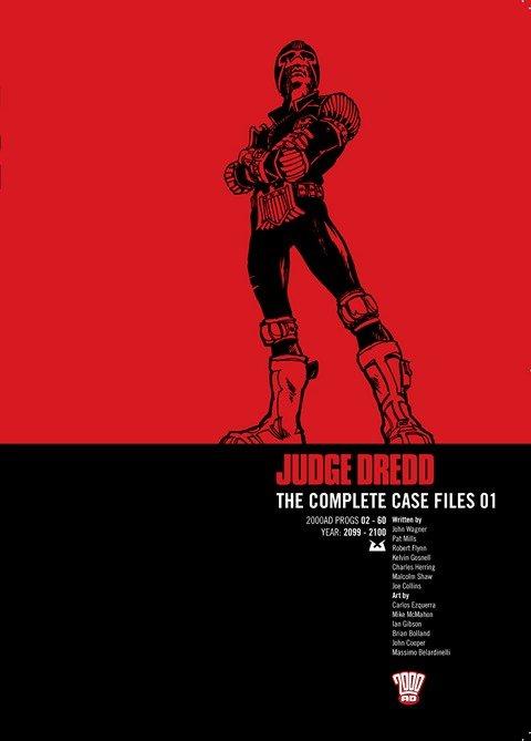 Judge Dredd – The Complete Case Files Vol. 1 – 35 (2009-2020)