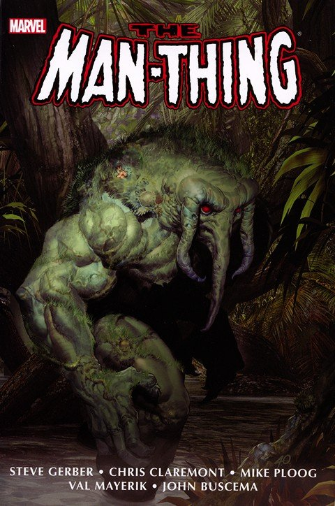 Man-Thing Omnibus – Complete (2012)