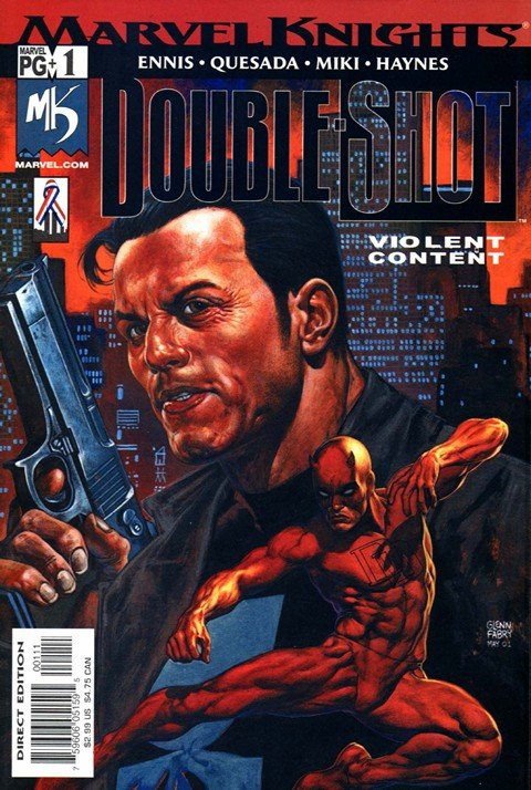 Marvel Knights Double Shot #1 – 4