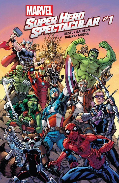 Marvel Super Hero Spectacular #1