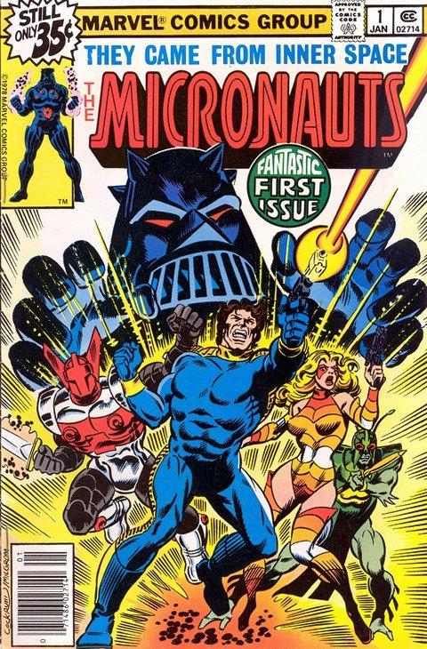 Micronauts Vol. 1 – 4 + Extras (1979-2004)