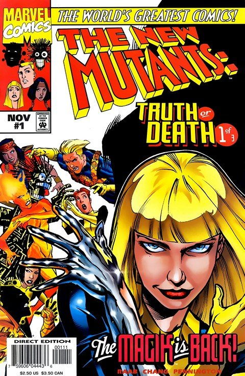 New Mutants – Truth or Death #1 – 3 (1997)