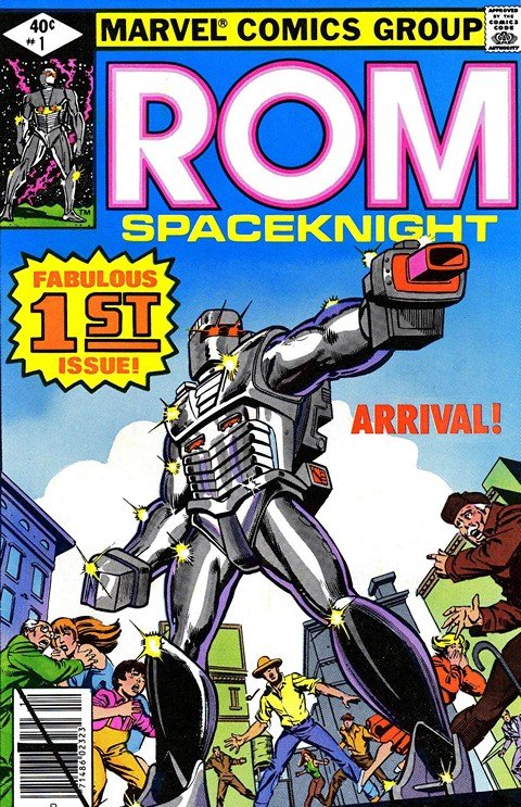 Rom The Spaceknight #1 – 75 + Annuals