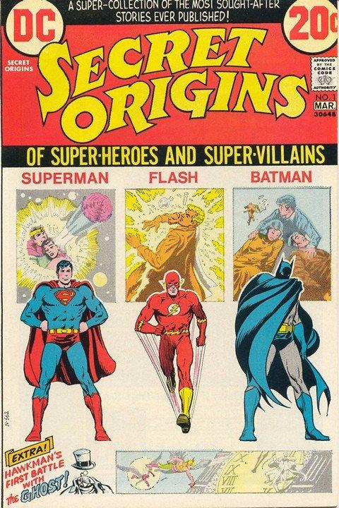 Secret Origins Vol. 1 #1 – 7 (1973)