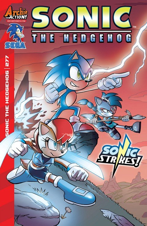 Sonic The Hedgehog #277