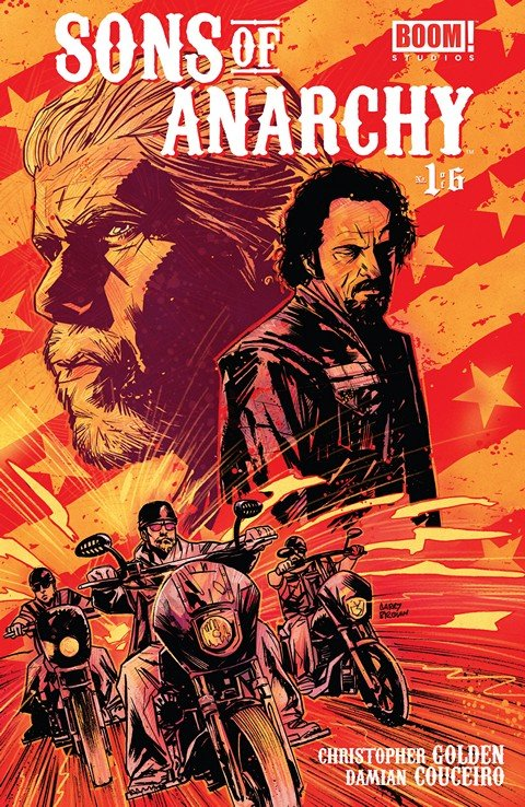 Sons of Anarchy #1 – 25 + TPB Vol. 1 – 2 (2013-2015)