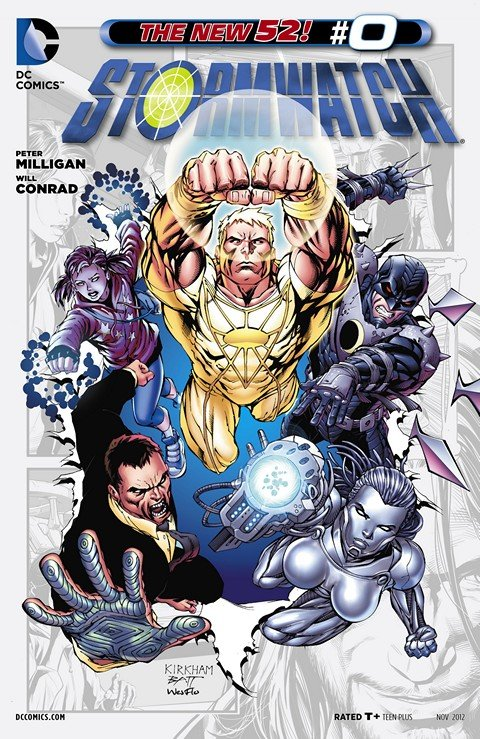 Stormwatch Vol. 1 – 3 + Extras (Ultimate Collection)