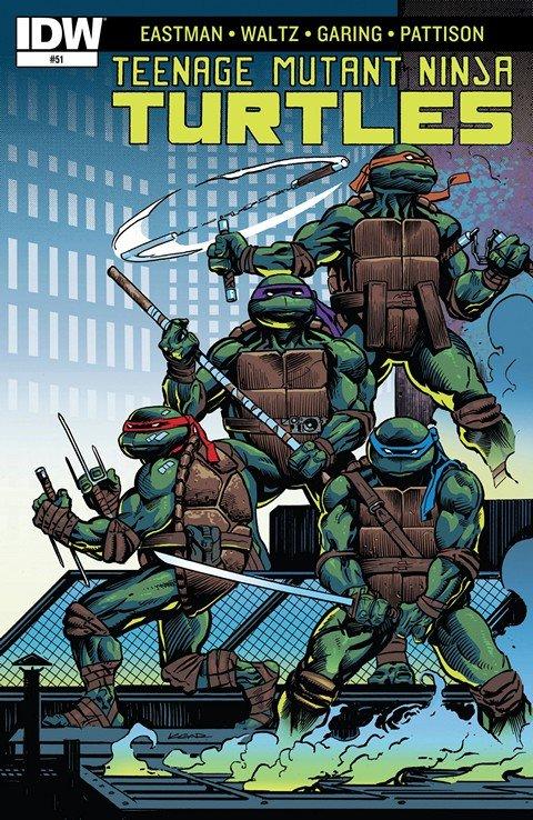 Teenage Mutant Ninja Turtles #51