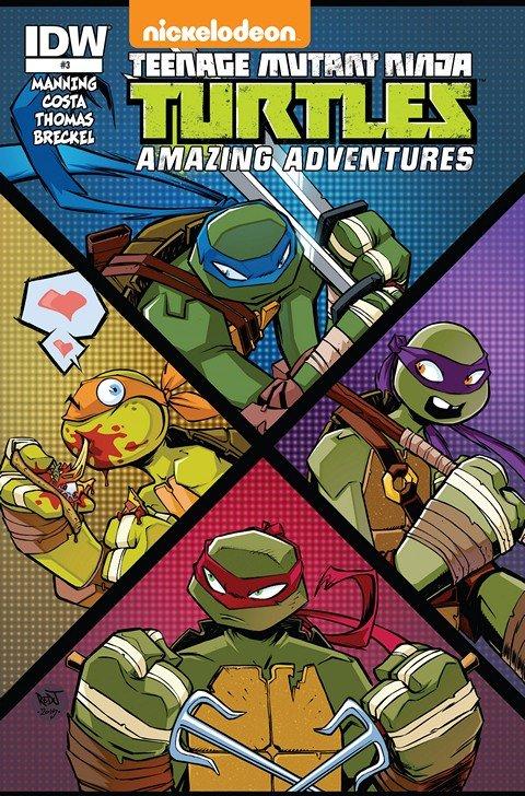 Teenage Mutant Ninja Turtles – Amazing Adventures #1 – 3
