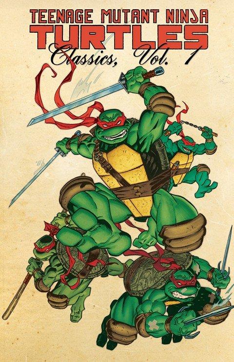 Teenage Mutant Ninja Turtles – Classics Vol. 1 – 10 (2012-2015)