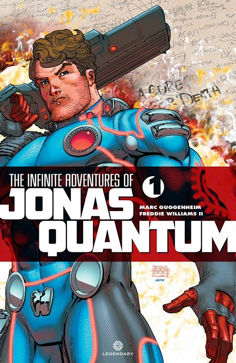 The Infinite Adventures of Jonas Quantum #1 – 6