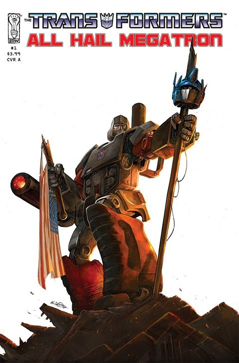The Transformers – All Hail Megatron #1 – 16