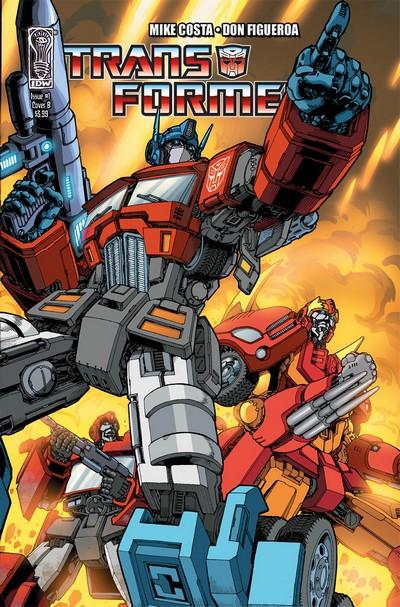 Transformers #1 – 31 + Extras (2009-2011)