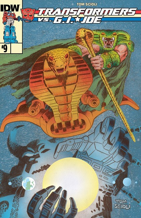 Transformers Vs G.I. Joe #0 – 9 + TPB Vol. 1